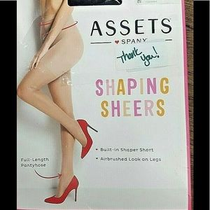Spanx Shaping Sheers Size M Black